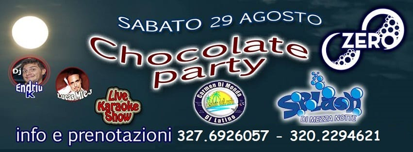 ZERO Discopub Pozzuoli - Sabato 29 Agosto Pool Party