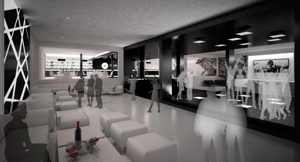 discoteca black e white